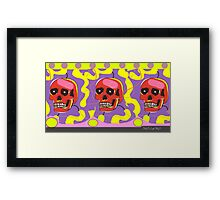 IN THE LABORATORY Framed Print