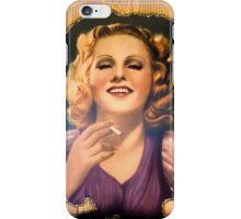 Vintage Woman 1 iPhone Case/Skin
