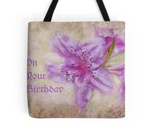 on your birthday for cheryl Tote Bag
