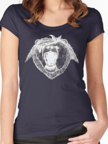 Bad Bear Grizzly Gang Women's Fitted Scoop T-Shirt