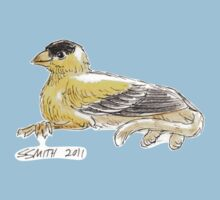 Sketch -- Mythological House Griffin: Goldfinch Variety Kids Clothes