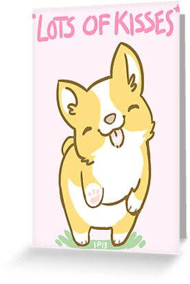Corgi Valentine -LOTS OF KISSES- by IdentityPro