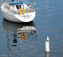Sea Sentinel, Fisherman's Wharf Monterey by MaryEllen O'Brien