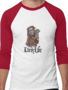 Dink Life Men's Baseball ¾ T-Shirt