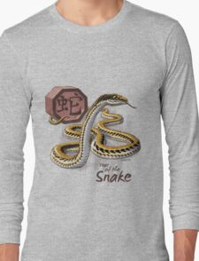 Chinese Zodiac - Year of the Snake Long Sleeve T-Shirt