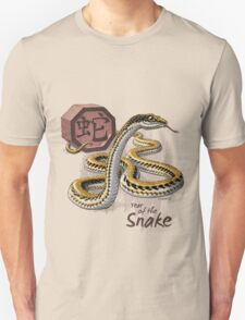 Chinese Zodiac - Year of the Snake Unisex T-Shirt