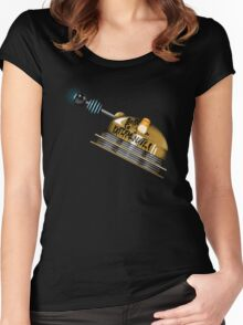 Born to Exterminate! Women's Fitted Scoop T-Shirt