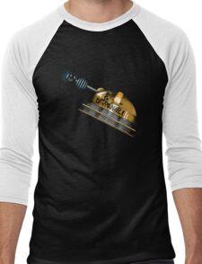 Born to Exterminate! Men's Baseball ¾ T-Shirt