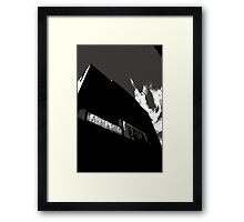 A Little Off The Top Framed Print