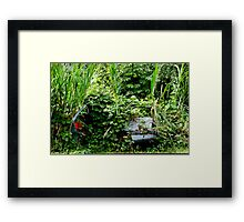 Auto Reclaimed Framed Print