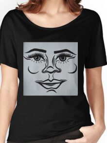 Clean, modern portrait Women's Relaxed Fit T-Shirt