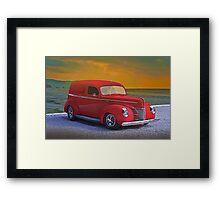 1940 Ford Panel Truck Framed Print
