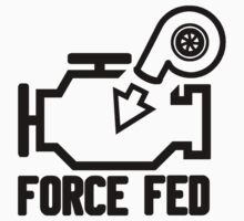 Force fed check engine light Baby Tee