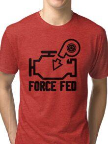 Force fed check engine light Tri-blend T-Shirt