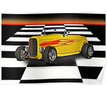 1932 Ford Hi Boy Roadster Poster
