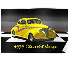 1939 Chevy Coupe w/ ID Poster