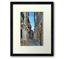 Ancient steps (HDR) Framed Print