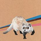 Black-footed ferret by NancyBenton