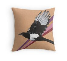 Magpie Throw Pillow