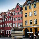 Old Copenhagen houses by Andrea Rapisarda