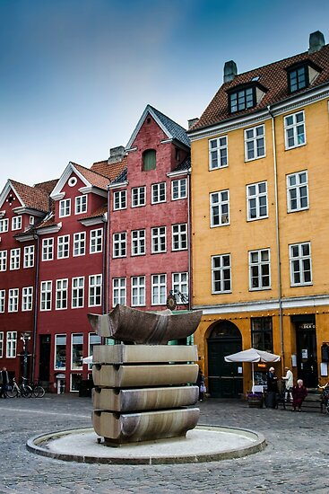 Old Copenhagen houses by Andrea Rapisarda