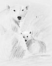 arctic bears by Marianna Tankelevich