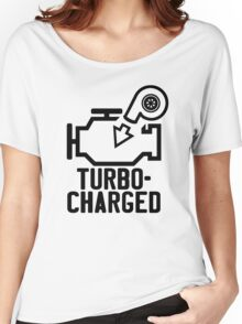 Turbocharged check engine light Women's Relaxed Fit T-Shirt