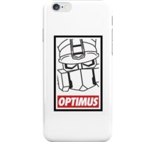 Optimus iPhone Case/Skin