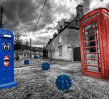 Revenge of the killer phone box  by Rob Hawkins