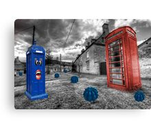 Revenge of the killer phone box  Canvas Print