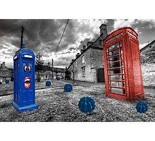Revenge of the killer phone box  Photographic Print