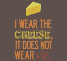I Wear the Cheese. Kids Clothes