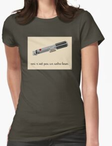 This is Not a Light Saber Womens Fitted T-Shirt