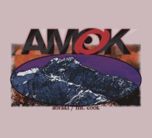 AMOK - aoraki / mt. cook by dennis william gaylor