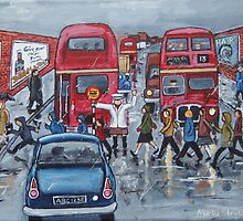 Lollipop Lady 1960s by Countrydudeuk