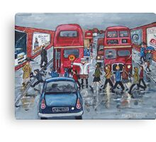 Lollipop Lady 1960s Canvas Print