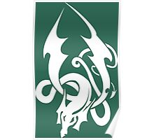 Celtic Knot Dragon Poster
