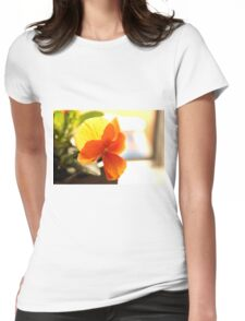 Viola in contra light Womens Fitted T-Shirt