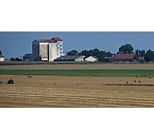 Grain Silo Photographic Print