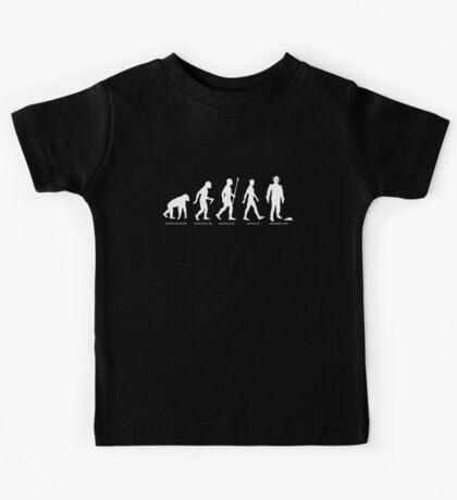 Evolution of Mondas Cybermen Kids Tee