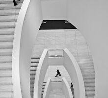 A staircase by Ilona Barna