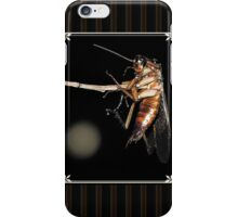 Cockroach on a stick iPhone Case/Skin
