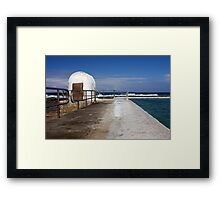 Merewether Baths Pump House Framed Print