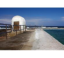 Merewether Baths Pump House Photographic Print