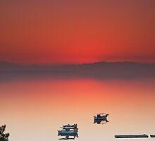 Sunset by George Mast