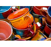 Cups&Cups Photographic Print