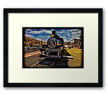 Old Steam Engine #3 Framed Print
