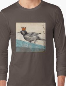 Green Is The King Long Sleeve T-Shirt