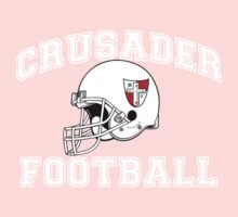 Crusader Football - White One Piece - Short Sleeve