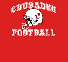 Crusader Football - White Unisex T-Shirt